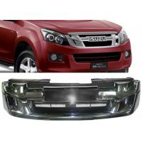 Best ISUZU D-MAX 2012 2013 2014 2015 OE Style Chromed Front Grille with Red Letters wholesale