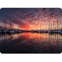 Cheap Customized Eco-Friendly 0.6mm PET 3D Lenticular Dining Placemat For Kitchen & for sale