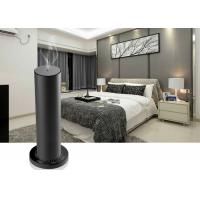 Best 200m³ Aluminum Alloy Desktop Scent Diffuser Machine Cylindrical Design In Mocha Black wholesale