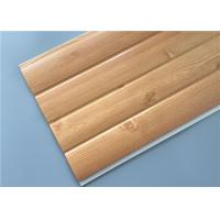 Cheap Fireproof Pvc Wall Panels Lightweight With Four Circular Arc 8.5 Mm Thickness for sale