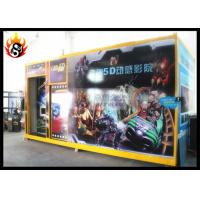 Cheap 5D Movie Theater Equipment with Motion Simulator and Special Effect System for sale