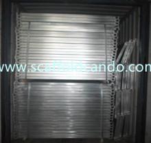 Best Scaffolding catwalk pre-galvanized Q235 hook planks 420*1829mmL 600*1800mmL for Ringlock frame scaffolding system use wholesale