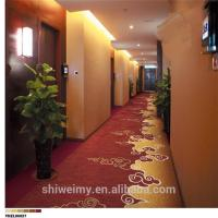 Best Chinese style beautiful hotel corridor roll carpet wholesale