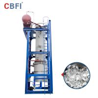 China 60 Tons Per Day Ammonia Refrigerant Ice Tube Machine 12 Months Warranty on sale