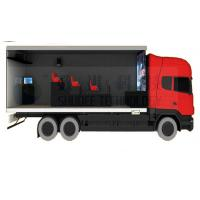 Buy cheap Mobile Truck 5D Cinema System with Waterproof Cabin and Motion Cinema Seat from wholesalers