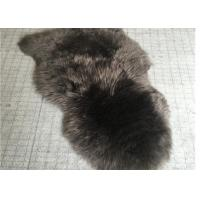 Cheap Real Sheepskin Rug Customized Size 110 x180cm Australia Long Wool Hides Rug for sale