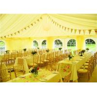 Cheap Hard Pressed Extruded Aluminum Alloy High Peak Wedding Event Tents For Party And for sale