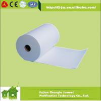 China H13,H14 (99.999% ) Fiberglass HEPA Filter Paper Roll Air Filter Media on sale
