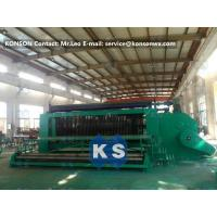 Best 4.0mm Wire Hexagonal Mesh Machine Double Rack Drive For Making Gabion Baskets wholesale