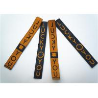 Best Garment Clothing Label Tags Soft Printing Woven Fabric Decoration wholesale