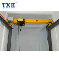 Best Yellow 5t Single Girder Overhead Crane Electric Monorail Travelling wholesale