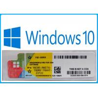 Buy cheap 100% Online Activation Microsoft Windows 10 Pro Software / Windows 10 Oem Product Key from wholesalers