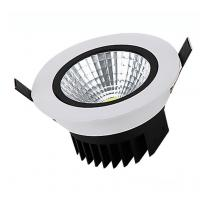 Best 10W Round recessed aluminum COB dimmable LED down light for hotel wholesale