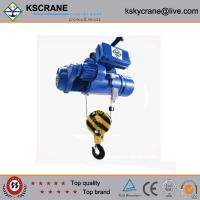 Best 5ton Wire Rope Double Electric Hoist With 110V With Double Trolley wholesale