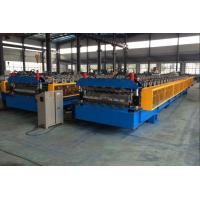 Best 5T Roof Panel Double Layer Roll Forming Machine 0.3-0.8mm 18 Stations wholesale
