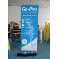 Cheap Scrolling Retractable Trade Show Banners For Exhibition 80*200cm for sale