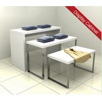 Best Wooden Display Stand for Promotion of Garment wholesale
