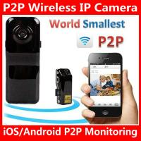 Best MD81S WiFi Camera iOS/Android Wireless IP P2P Surveillance Camera Spy Hidden TF DVR MD99S wholesale