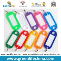 Best Plastic Oval Shape Colorful Name Tag w/Small Key Ring Cheap Factory Price wholesale