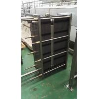 Best 1000L / H Two-Section Type Plate Heat Exchanger Φ51 Material Diameter wholesale