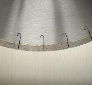 Best 450mm 18 Inch Porcelian Ceramic Tile Saw Blades Silver Welded J Slot Diamond Tile Blade wholesale