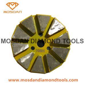 Best Diamond Concrete Grinding Plate  10 Segments With Ez Lock wholesale