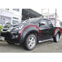 Best Modified Wheel Arch Flares For ISUZU D-MAX 2012 - 2015 , 2017 Fender Flares wholesale