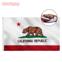 Best Outdoor USA State 90x150cm Rectangle Banner Flags wholesale