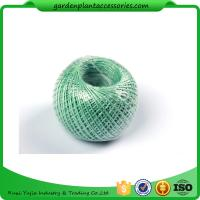 Best 100M Length Twine Jute Garden Plant Ties , Blue Flexible Garden Tie wholesale