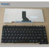 China Internal Laptop Keyboard Replacement Toshiba Satellite A10 Black 12 Months Warranty on sale