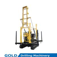 Best Track Mounted Drivable Hydraulic High Speed Water Well Driliing Rig wholesale
