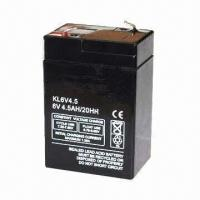 Best 6V Sealed Lead-acid Battery, OEM Orders are Welcome  wholesale