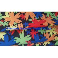 Best Water Repellent Garment Poly Twill Fabric  Drill Microfiber Peach Skin Floral Printing wholesale