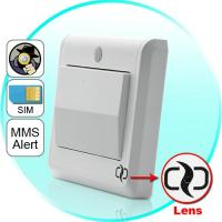 Best HD Spy Camera Light Switch with GSM Remote Control (Motion Detection, GSM MMS Video Alarm) wholesale