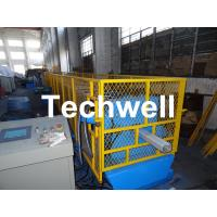 Best Galvanized Steel Sheet Square Rainwater Downpipe Roll Former For 80mm, 100mm Or 120mm Coil Width wholesale