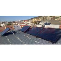 Buy cheap Flat Plate Solar Collector Solar Water Heater Super Warm Rock Wool Insulation from wholesalers