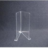 Cheap COMER A4 Acrylic display holder stand for Inserts, Tag, Brochure, Leaflet for merchandise. for sale