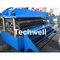 Best Polyurethane Sandwich Panel Production Line For Color Steel With PLC Touch Screen Control wholesale