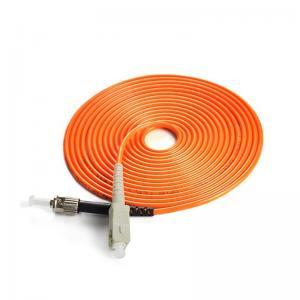 Best Simplex ST To FC Fiber Patch Cable 1m 2m 3m 5m For Area Network / FTTH wholesale