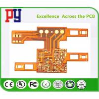 Buy cheap Single Layers PCB Printed Circuit Board Flexible 1OZ Double Side Polyimide Base from wholesalers