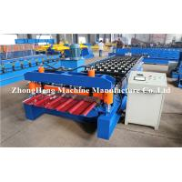 Best 5.5kw Iron sheet Roll Forming Machine productin line with decoiler and runout table wholesale