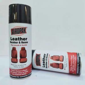Best 390g Waterproof Spray Paint Leather / Carpet / Vinyl / Hard Plastic Refinisher wholesale