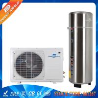Best 55DegC Splinched 5kw Gas Cycle Domestic Air Heat Pump Water Heater 200-300L Pressure Tank wholesale
