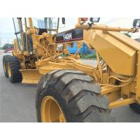 Best Second Hand Compact Motor Grader Caterpillar 140 2800hrs Wihout Oil Leakage wholesale