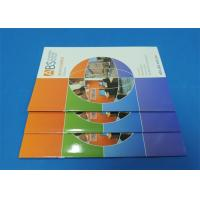 Best Full Color Saddle Stitch Book Printing Service With Perfect Binding A6 wholesale