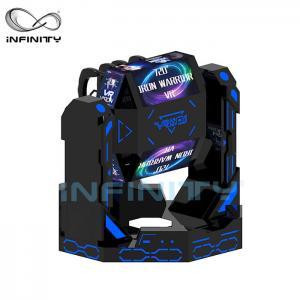 Best 2 Person Iron Warrior 9D VR Roller Coaster Simulator VIULUX V8 Glasses wholesale