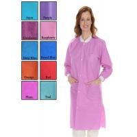 China CE ISO FDA Disposable Lab Coats , Women Protective Clothing For Single Use on sale