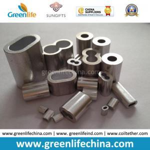 Best Different Sizes Aluminum Material Oval Shape/Number 8 Shape Crimps wholesale