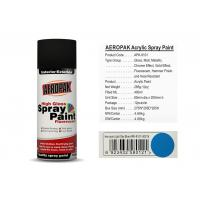 Best 400 Ml Aerosol Spray Paint Light Sky Blue Color ForCleaning Grease / Wax / Rust wholesale