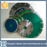 China 7inch180mm Wet Cutting Diamond Angle Grinder Saw Blade on sale